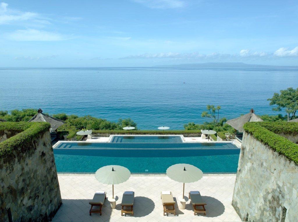 Luxe hotels van wereldsterren in Bali