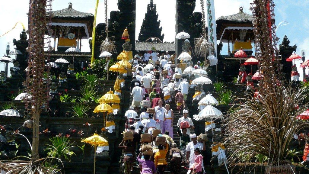 Reizen Indonesië magische tempel