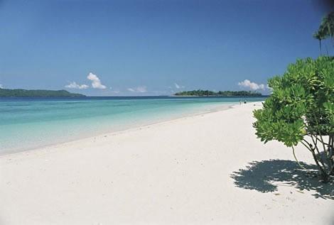 Reizen Lombok strand Senggigi